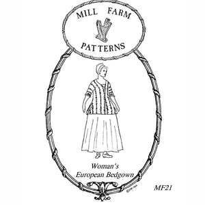 Mill Farm European Bedgown Pattern