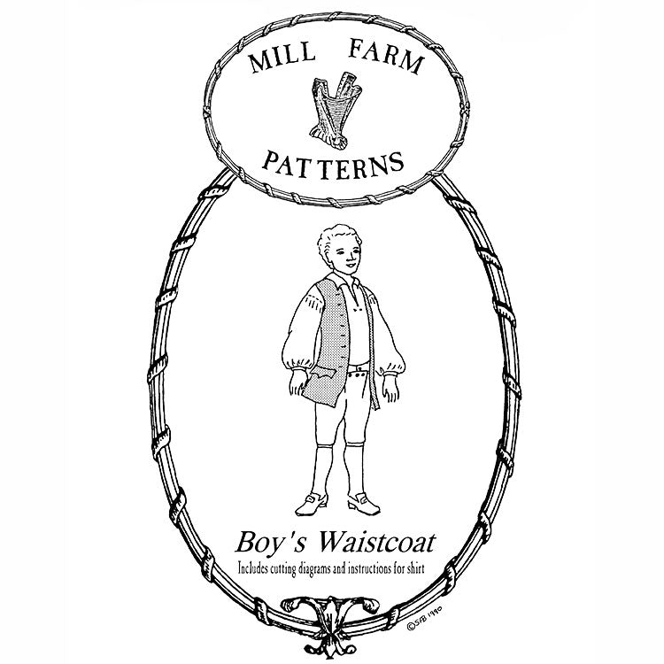 Mill Farm Boys Waistcoat and Shirt Pattern