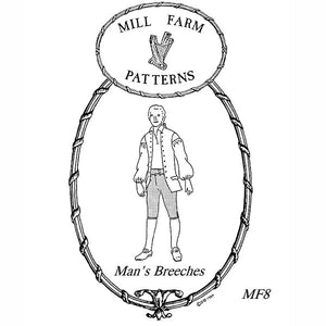 Mill Farm Drop Front Breeches Pattern