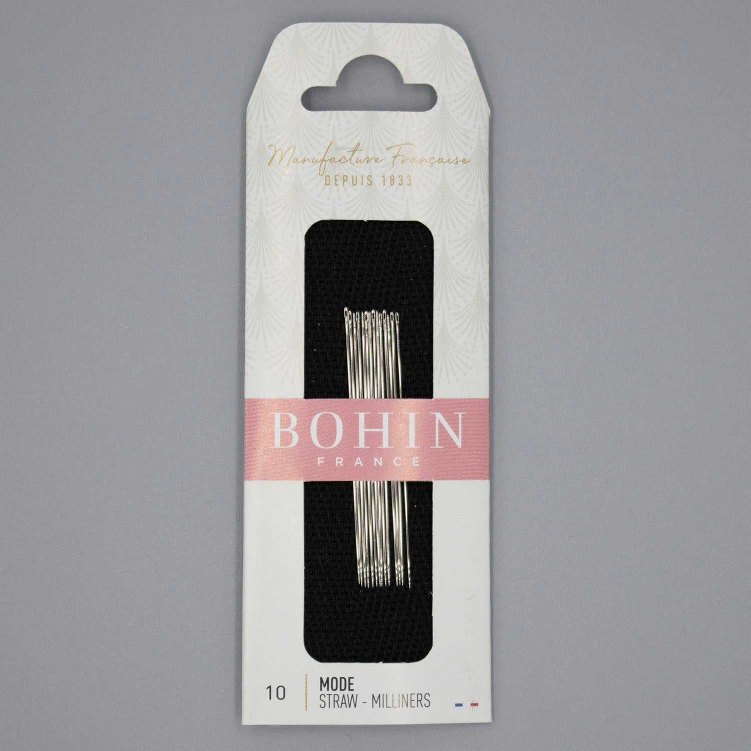 Bohin Milliners Sewing Needles, Size 10
