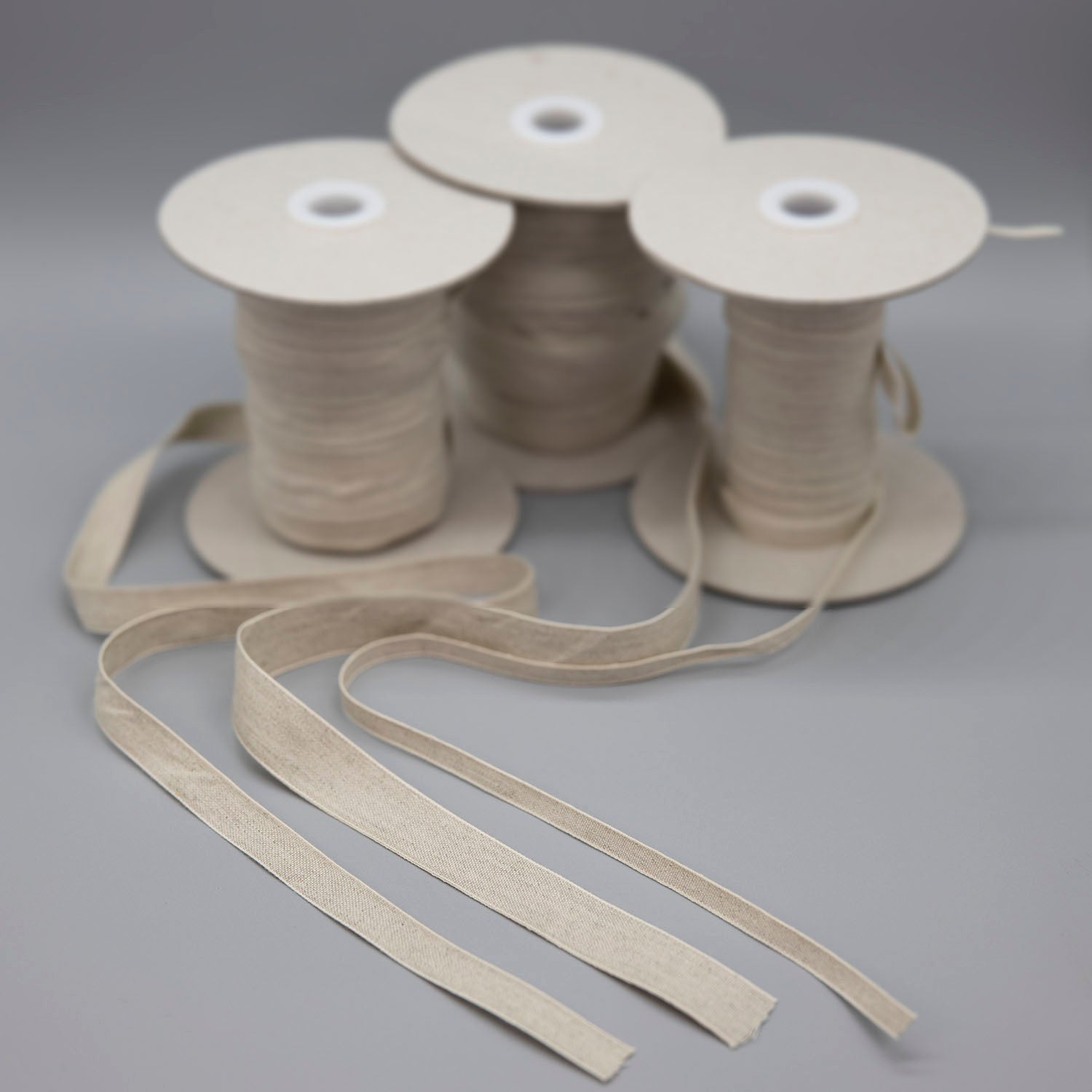 Dutch Linen Tape - Natural - Sold by the yard - $1.00 yd. - $1.90 yd.