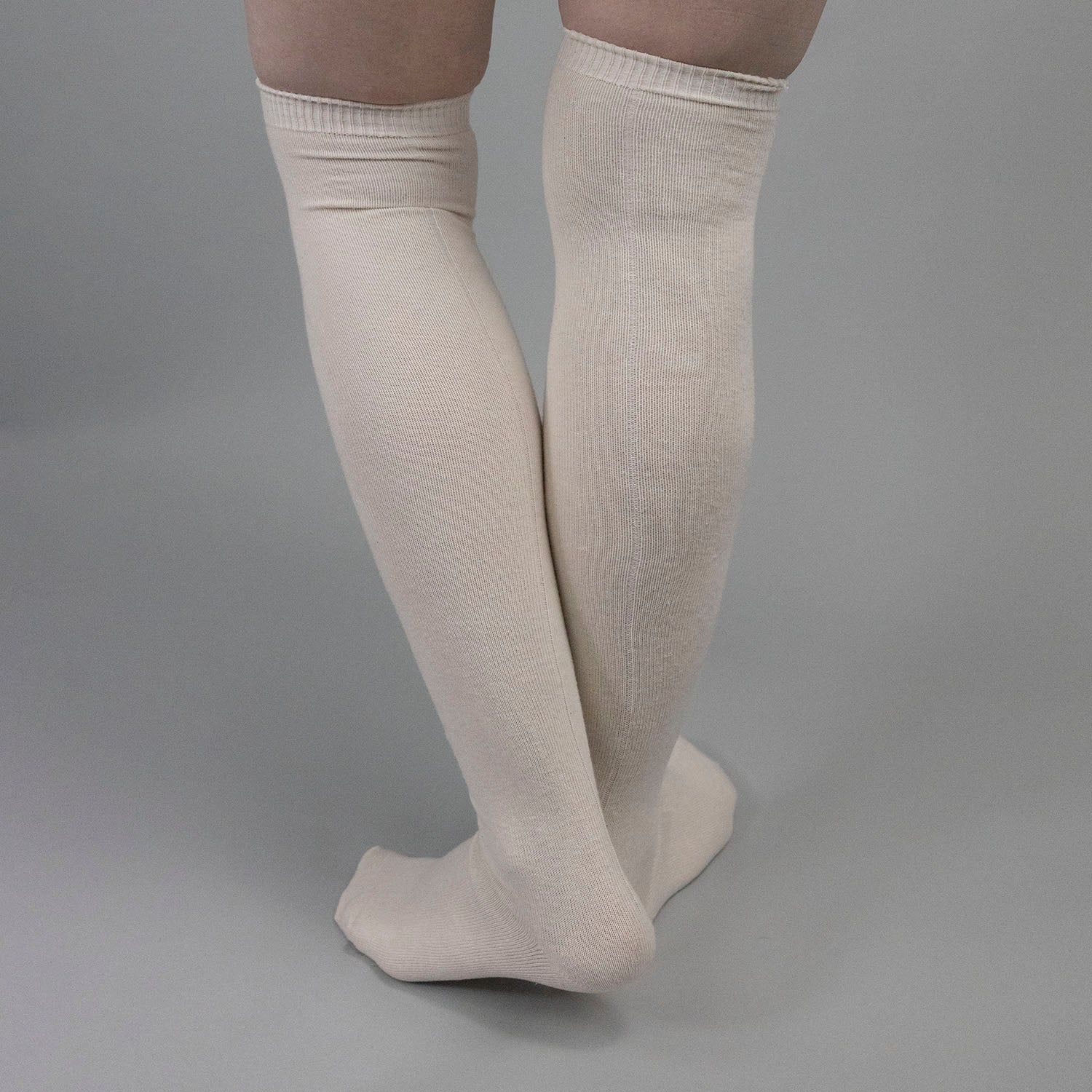"""Seamed"" Cotton Stockings"