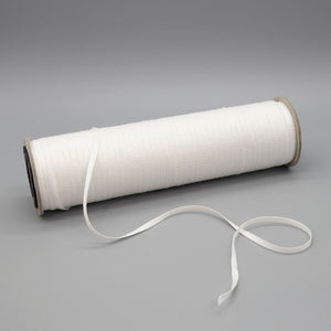 1/8 inch Plain Weave White Cotton Tape - 100 yd. Roll  - SAVE 20%