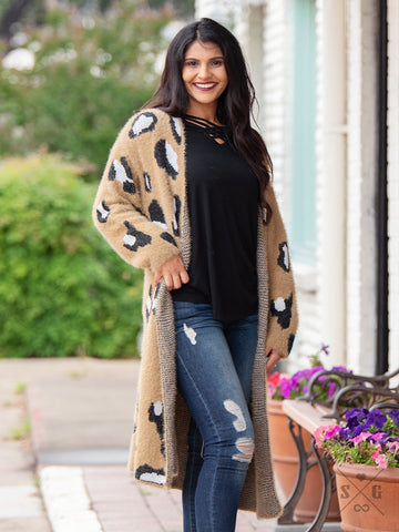 The Desert Leopard Cardigan