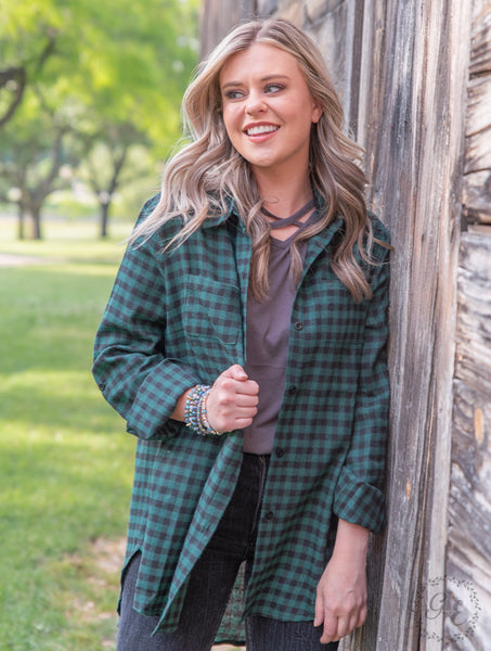 The Staple Plaid Flannel