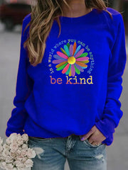 Be Kind Sunflower Sweatshirt