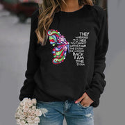 THEY WHISPERED TO HER YOU CANNOT WITHSTAND THE STORM Sweatshirt