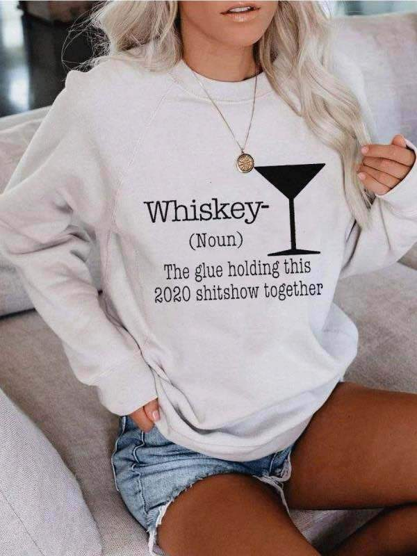 Whiskey Sweatshirt