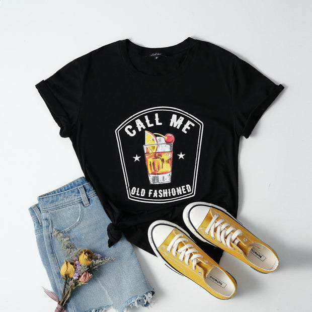 Cotton Call Me Old Fashioned Tee