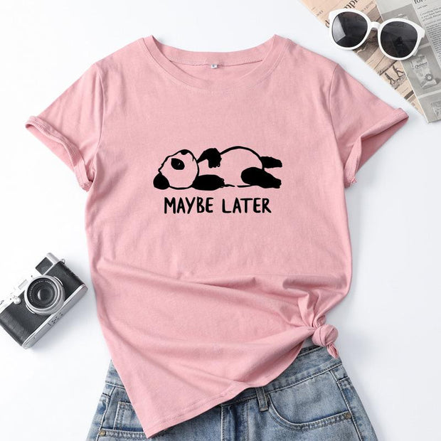 Maybe Later Tee
