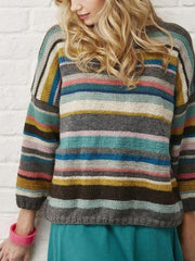 Crew Neck Vintage Sweater