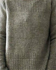 Solid Color Long Sleeve Sweaters