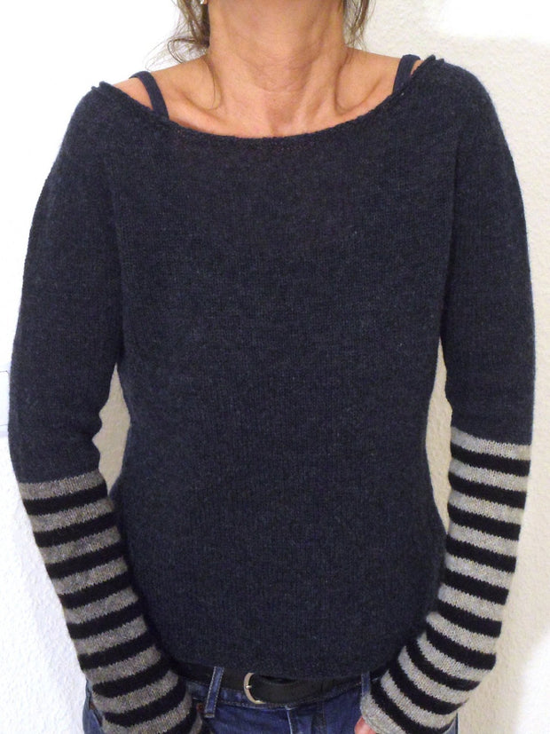 Casual Shift Solid Sweater