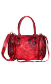 Women Washed Vintage Duffle Bag with Heavy Wash- Doris