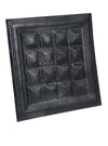 Leather Designer Pyramid Decorative Wall Tiles , Leather Tiles - CrabRocks, LeatherfashionOnline  - 2