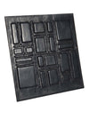 Leather Designer Cubic Decorative Wall Tiles , Leather Tiles - CrabRocks, LeatherfashionOnline  - 2