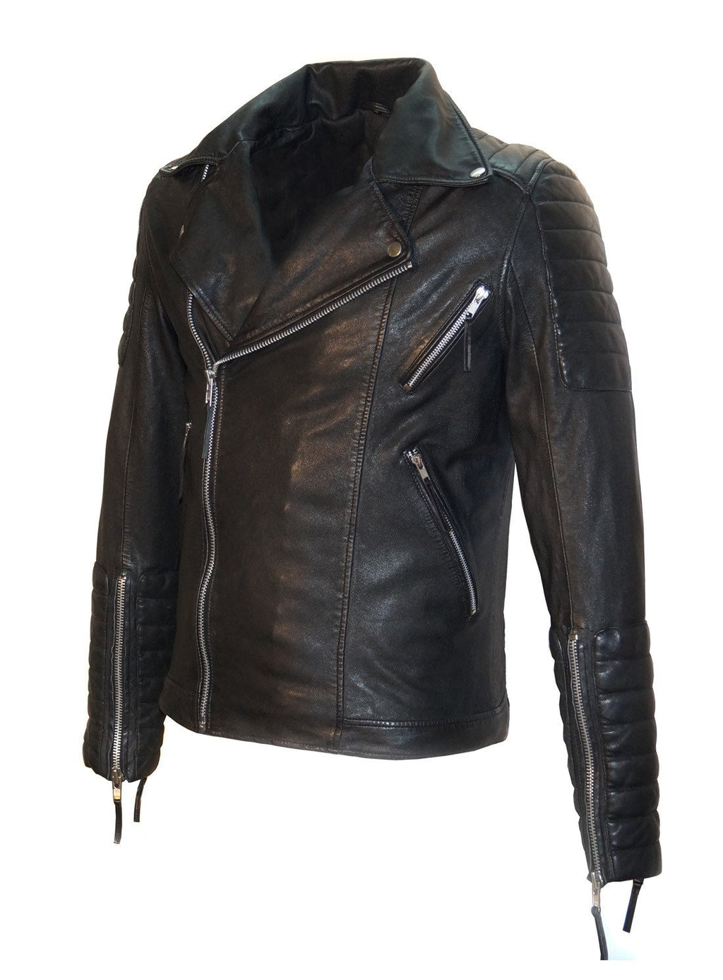 Leather Washed Vintage Man Jacket
