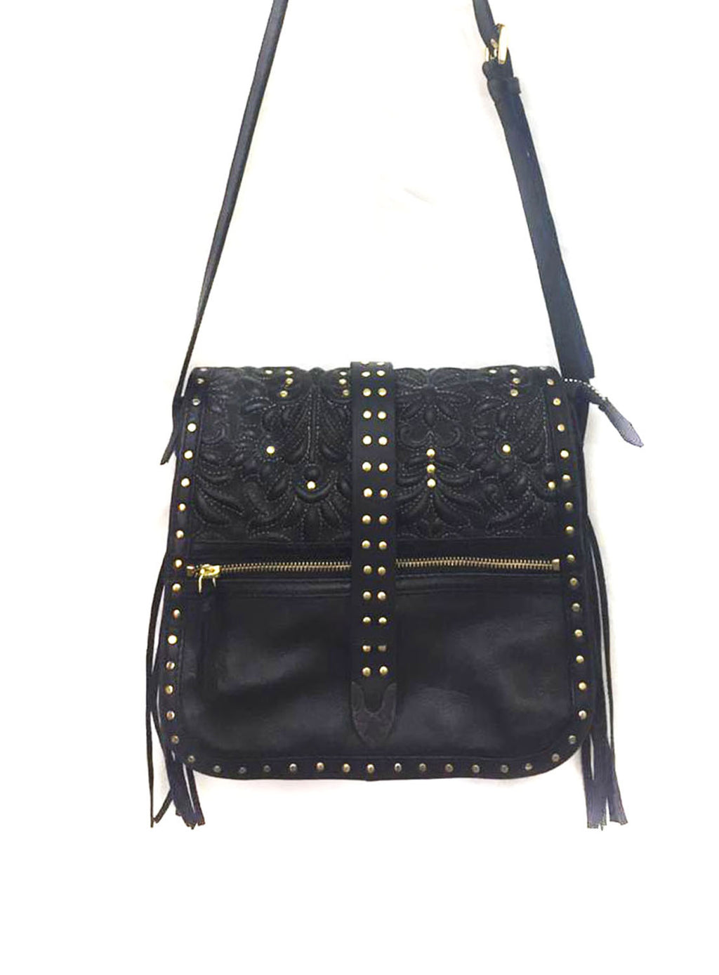 Melbourne Leather Across Body Medium Bag