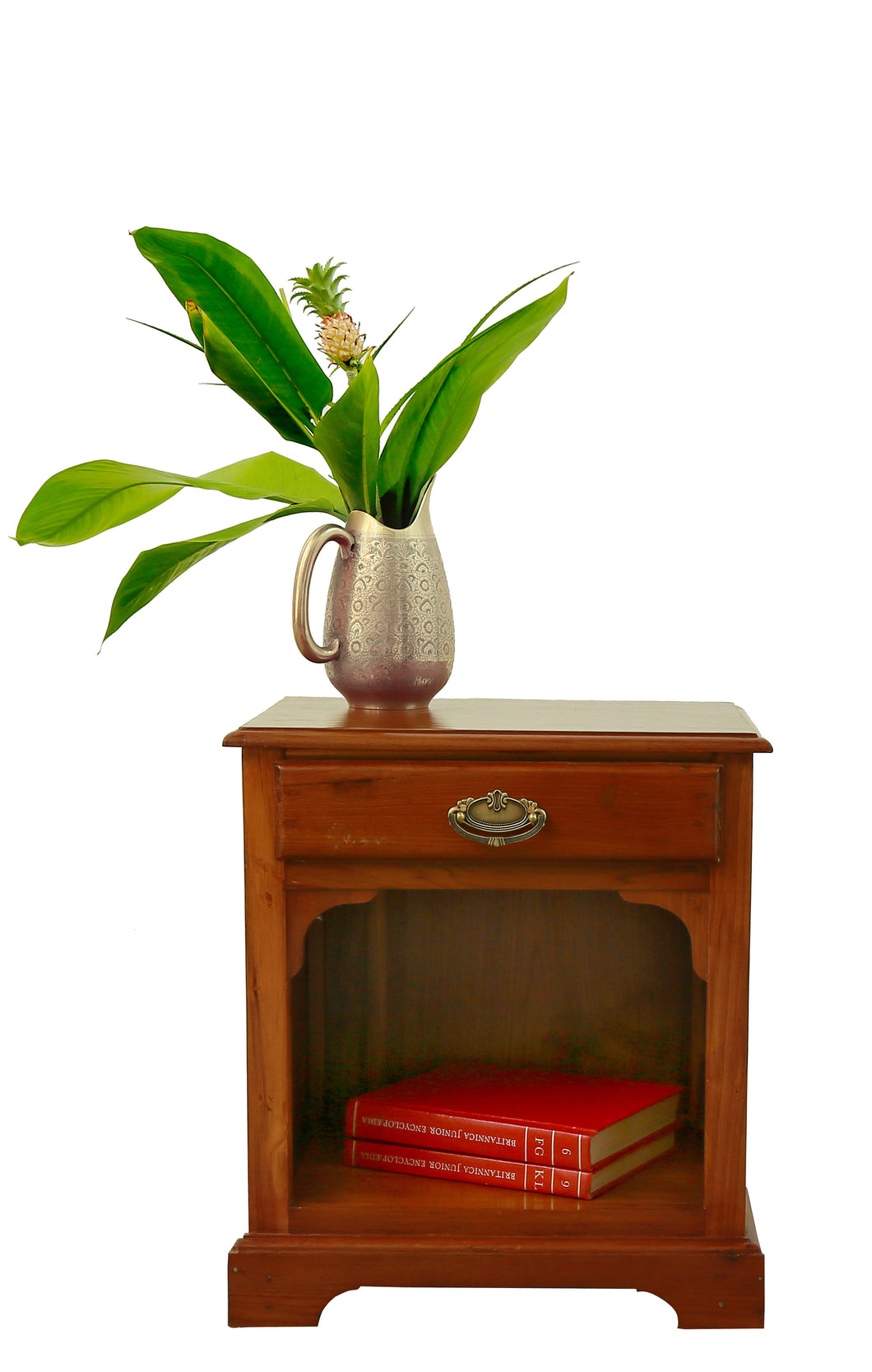 Teak Wood Bedside Table