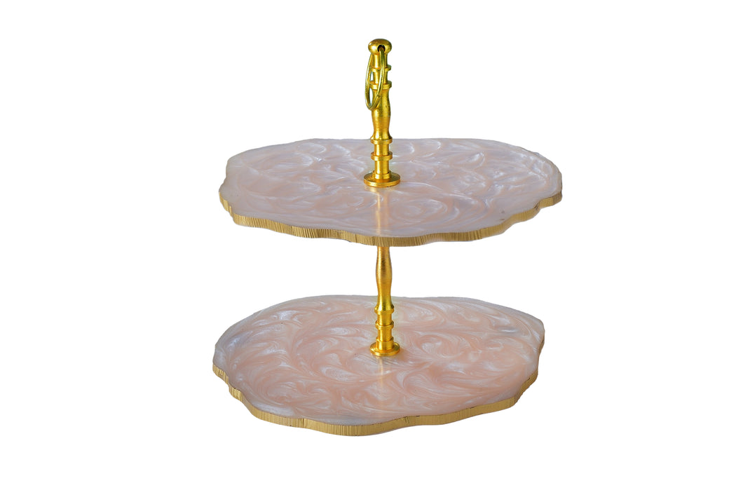 Beige Cup Cake Stand