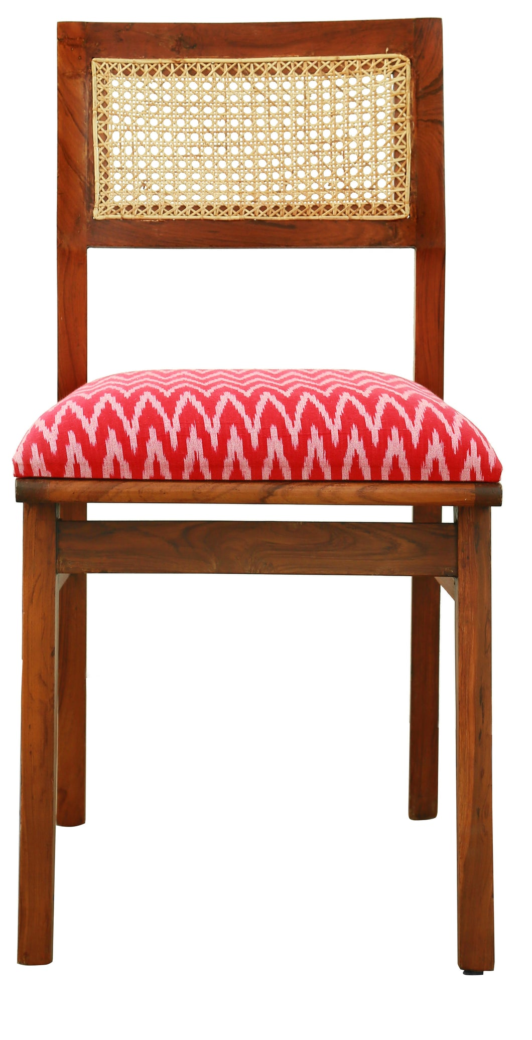 Ikat Cane Chair