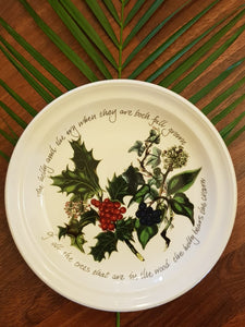 Portmeirion Christmas Plate