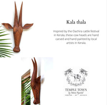 Load image into Gallery viewer, Wooden Cow Heads(Kalathala)