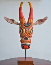 Load image into Gallery viewer, Large Wooden Cow Heads(Kalathala)