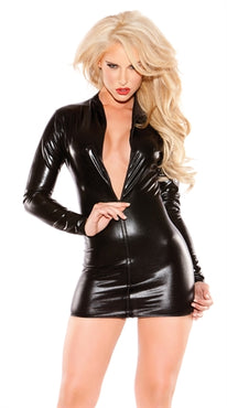 Sexy Siren Dress - One Size - Black