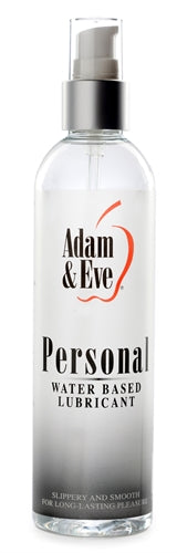 Adam and Eve Personal Water Based Lubricant 8 Oz