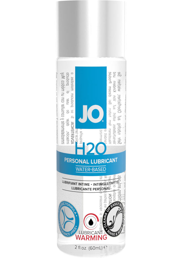 Jo H2o Lube Warming 2oz
