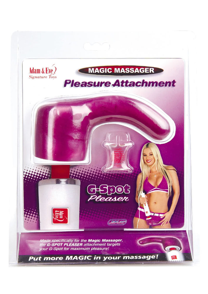 Adam And Eve Magic Massager G Spot Pleasure Attachment 3.75 Inch Pink