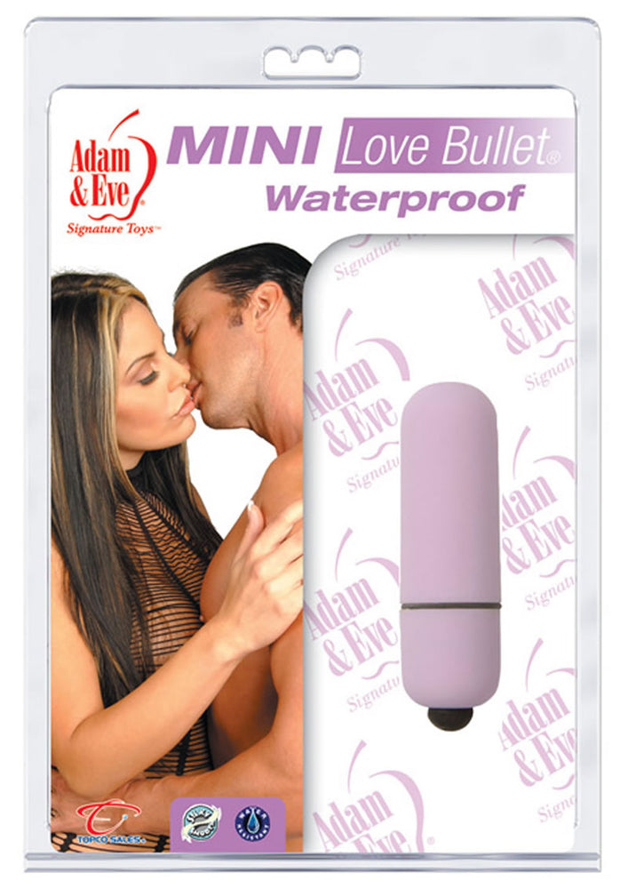 Adam And Eve Mini Love Bullet Waterproof Lavender