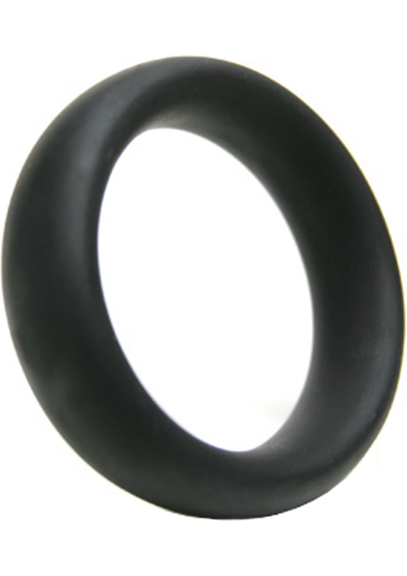 Advanced C Ring Silicone Cockring Black