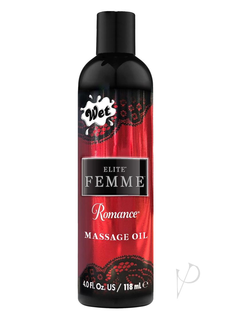 Inttimo Massage Oil Romance 4oz