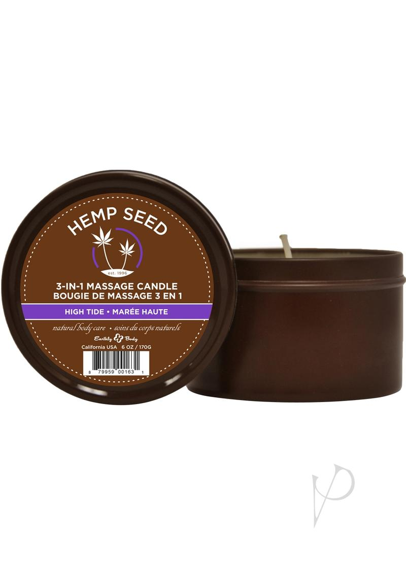 Round Massage Candle High Tide