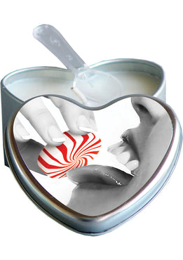 Edible Heart Candles Mint