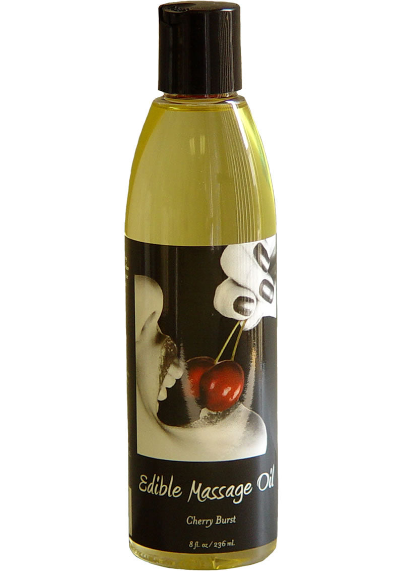 Edible Massage Oil Cherry 8oz
