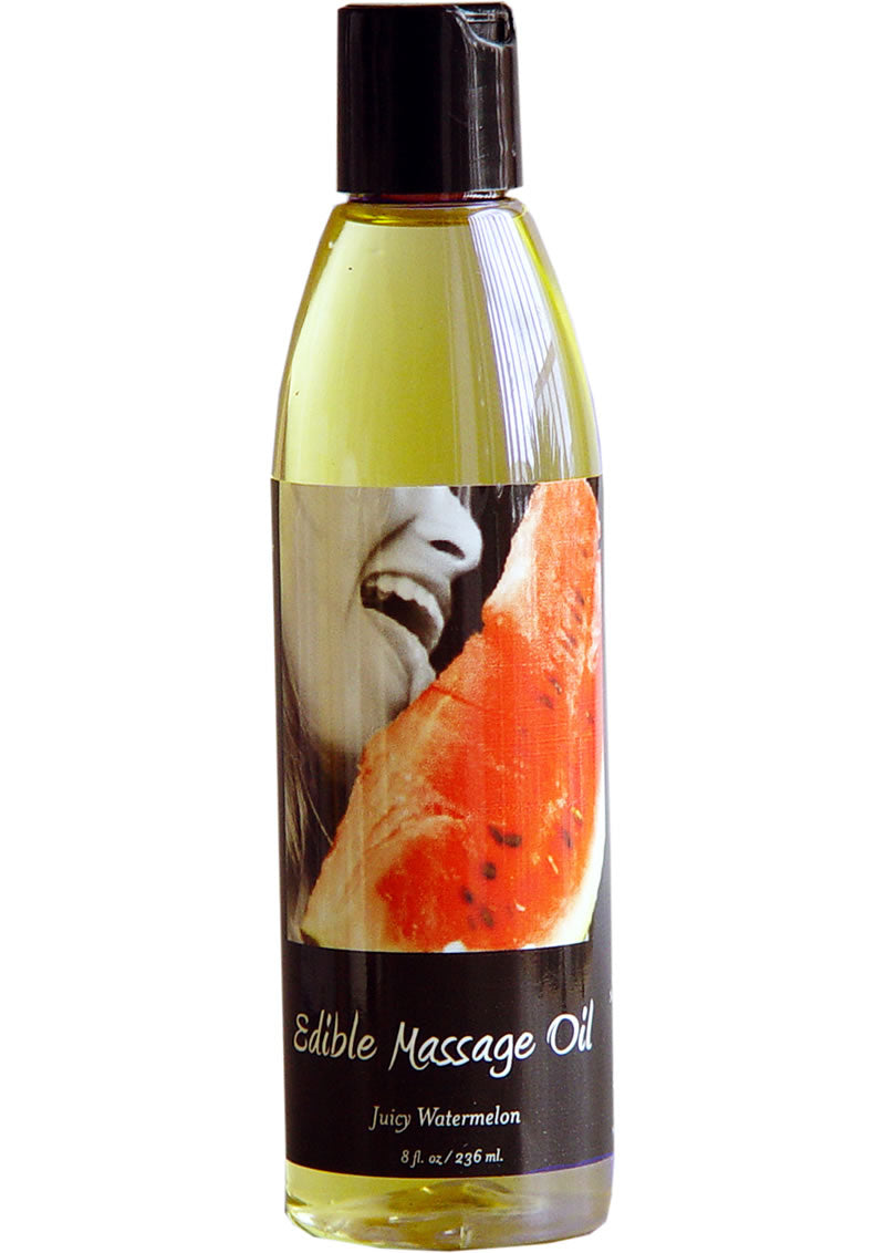 Edible Massage Oil Watermelon 8oz