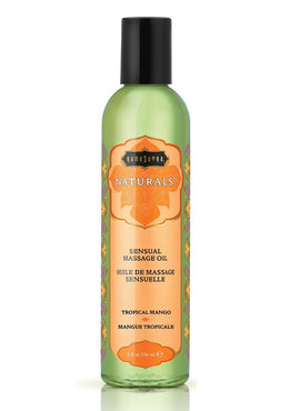 Naturals Sensual Massage Oil Tropical Mango 8 Ounce