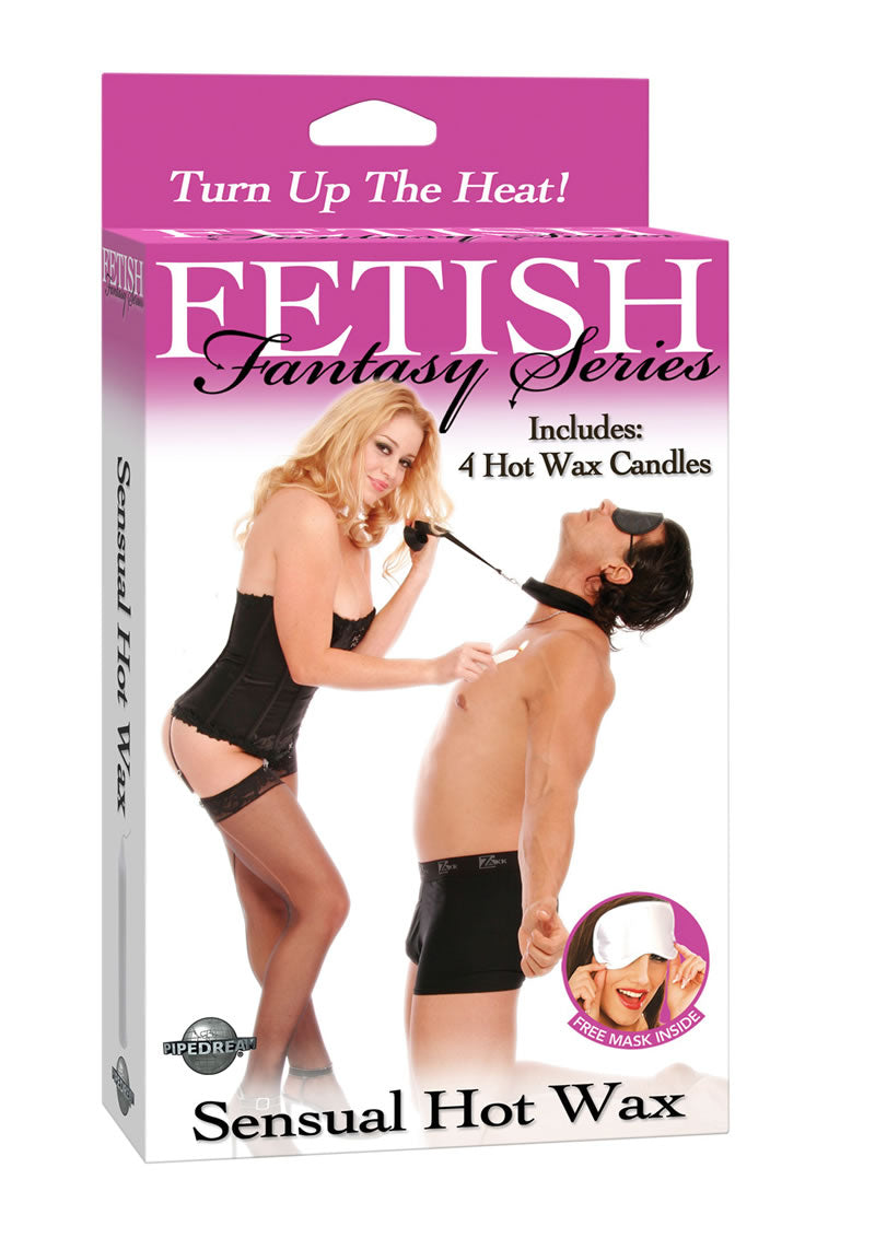 Fetish Fantasy Series Sensual Hot Wax Candle Set