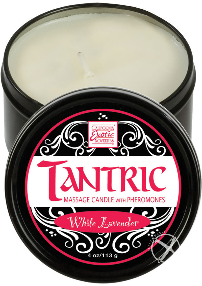 Tantric Massage Candle Wht Lav