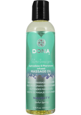 Dona Massage Oil Sinful Spring 4oz