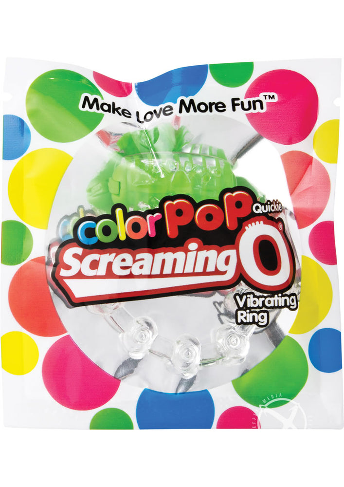 Colorpop Quickie Screaming O Grn-indv