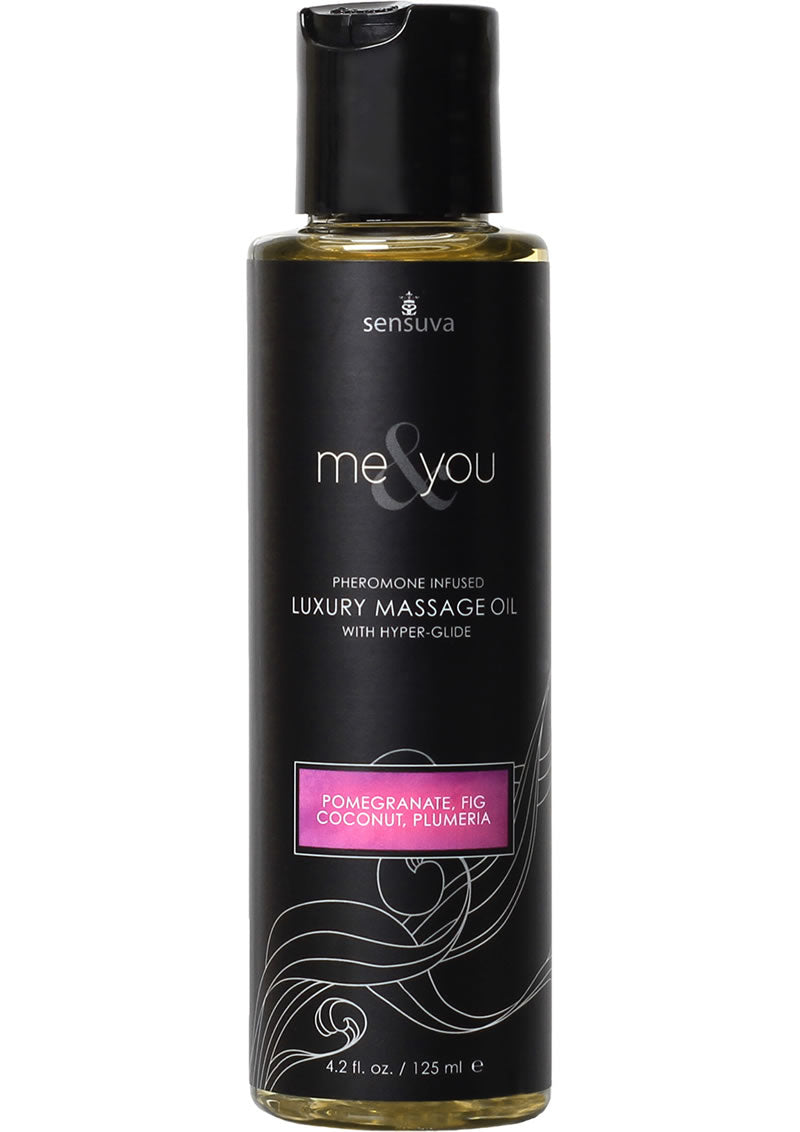 Me and You Massage Oil Pom Fig Coconut 4.2
