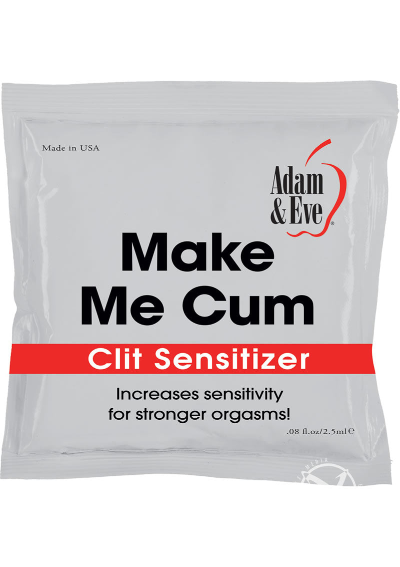 Cum Clit Sensitizer 2.5ml Foil 144/tub