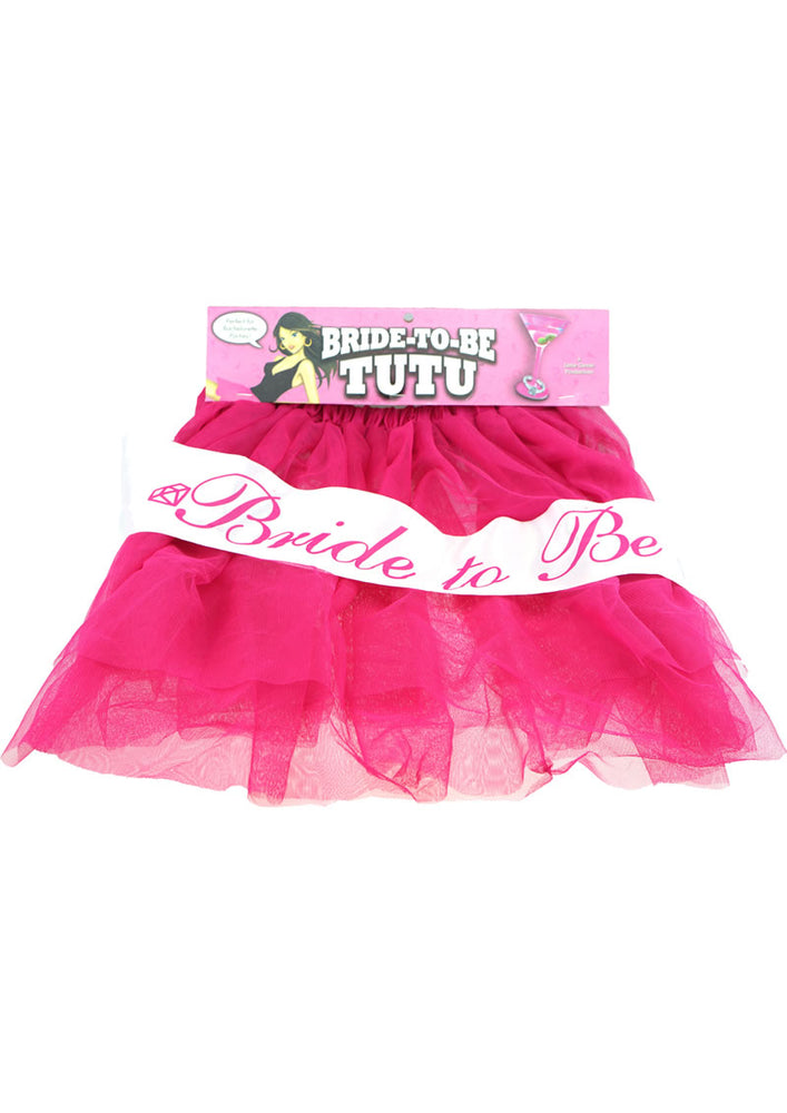 Bride To Be Tutu Pink (disc)