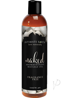 Naked Massage Oil 4oz