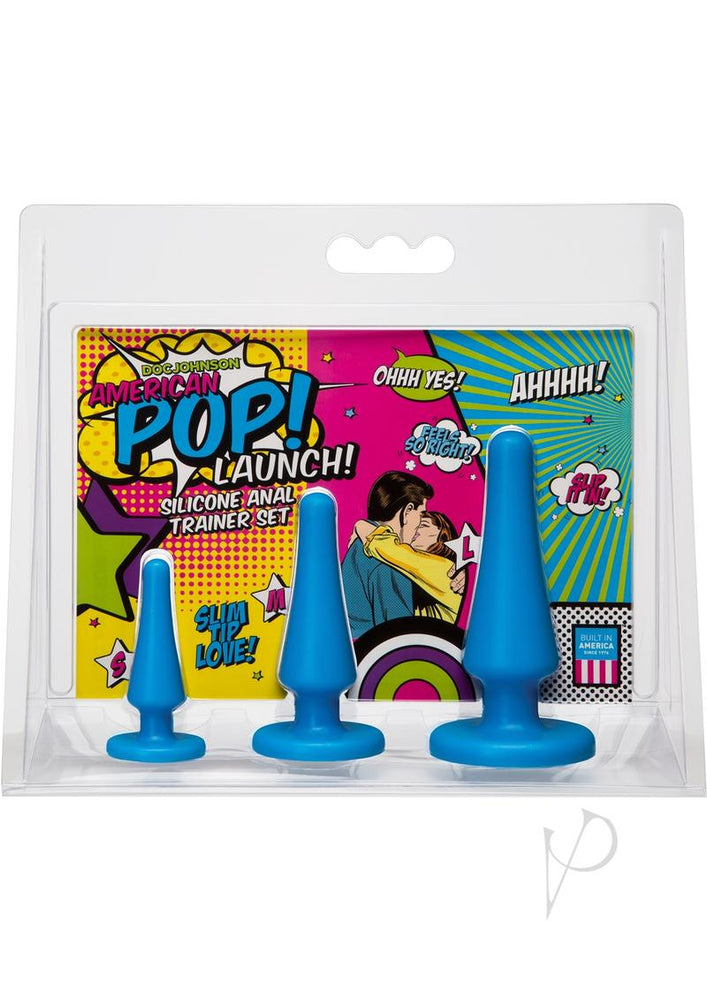 American Pop Launch Anal Set Blue(disc)