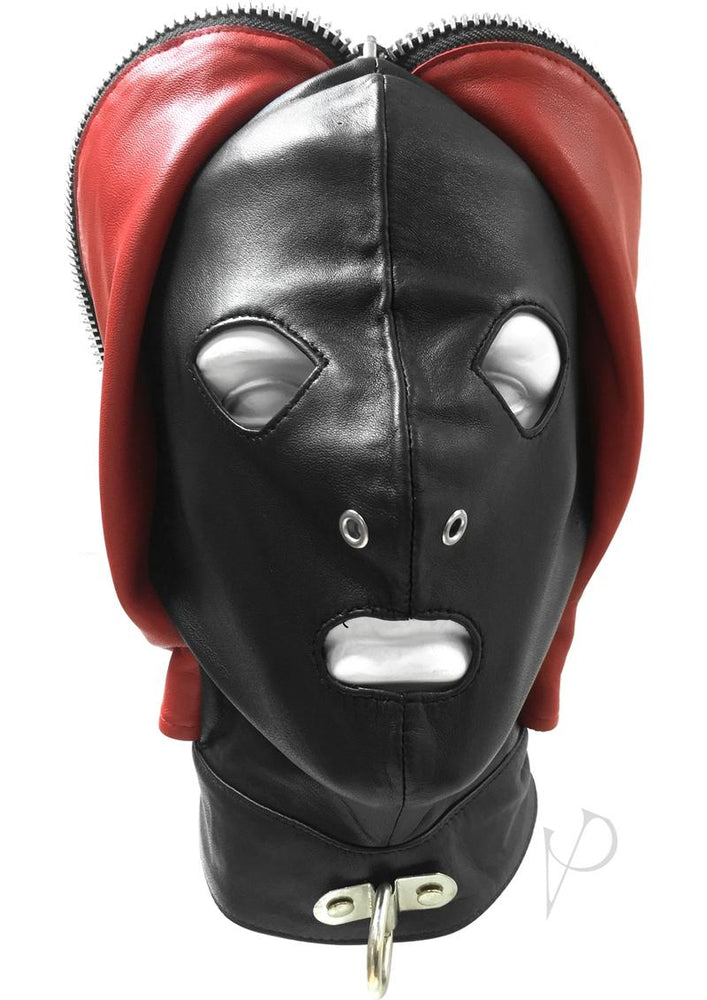 Rouge Fly Trap Mask Black/red